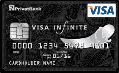 Кредитна картка «Visa Infinite»