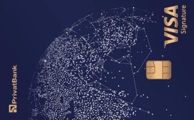 Кредитная карта «Visa Signature»