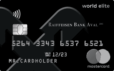 Кредитная карта «Mastercard World Elite»