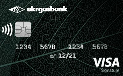 Кредитна картка «Visa Signature»