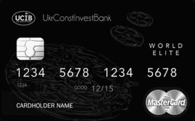 Кредитная карта «Премиум Элит»