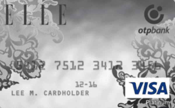 Кредитная карта «ELLE Platinum»