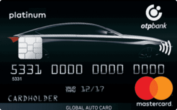 Кредитная карта «Global Auto Card»