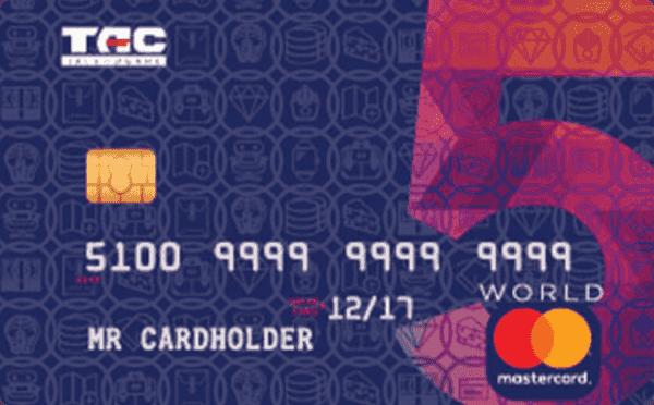 Кредитна картка «Велика п'ятірка»