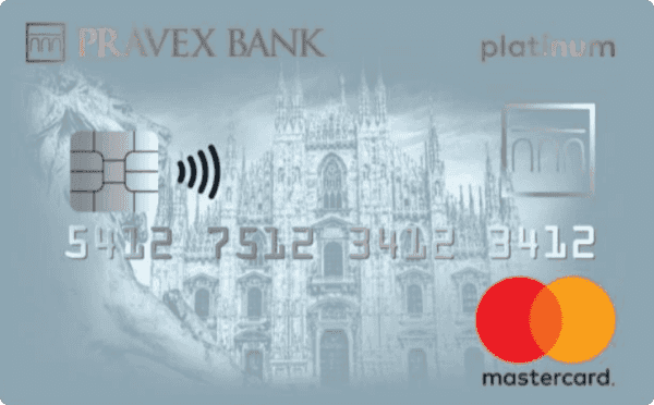 Кредитная карта «Pravex»