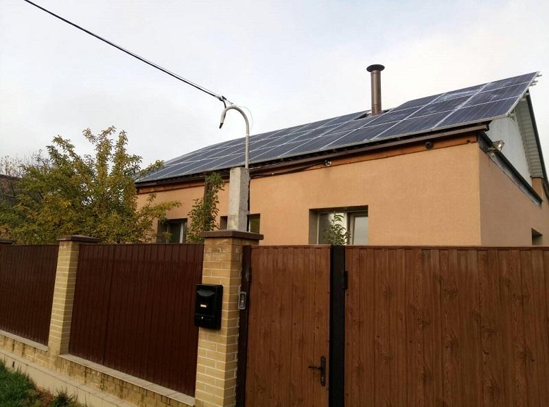 Домашня сонячна електростанція в 2019 році
